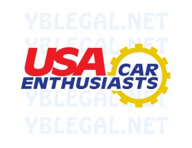USA Car Enthusiasts Sticker